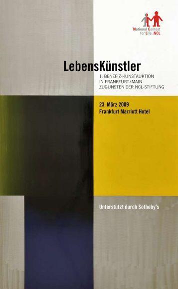 LebensKünstler - NCL-Stiftung
