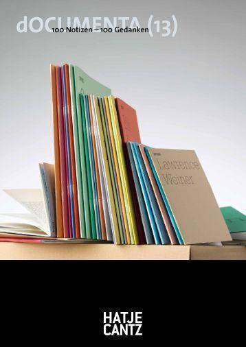 PDF, 1,5 - Hatje Cantz Verlag