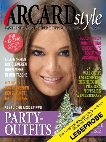 ARCARDstyle-Leseprobe - Gera Arcaden