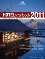 Hotel Yearbook 2011 - Horwath HTL