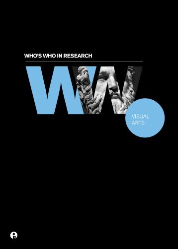 who's who in research visuAl Arts - Intellect
