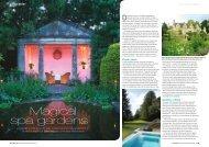 Magical spa gardens - Topiary Arts