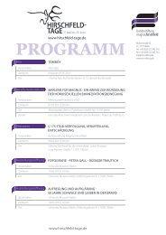 Veranstaltungen 2012 - Bundesstiftung Magnus Hirschfeld