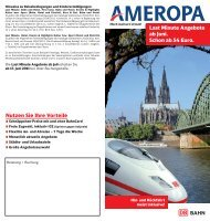Nutzen Sie Ihre Vorteile - Ameropa-Reisen