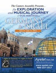Germany ItInerary - Ayelet Tours