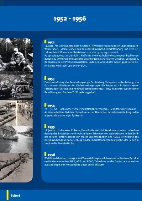 Festschrift 60 Jahre - THW