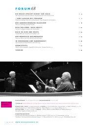 forum 68 - der kulturchronist