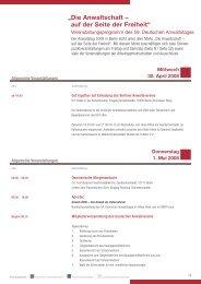 080107 DAV DAT-Heft Inhalt.qxd - Deutscher Anwaltverein