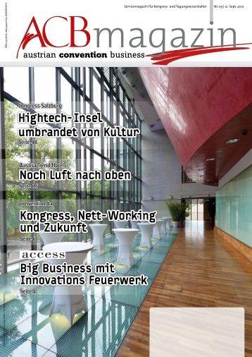 Werfen Sie gleich einen Blick in das Magazin - Austrian Convention ...