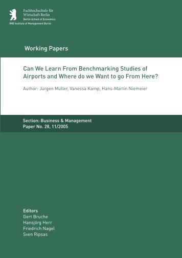 Working paper template - MBA Programme der HWR Berlin