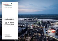 P2 P3 - Düsseldorf Airport Advertising