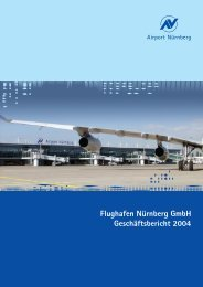 Geschäftsbericht 2004 - Flughafen Nürnberg
