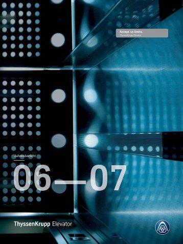 06 Æ 07 - ThyssenKrupp Elevator AG