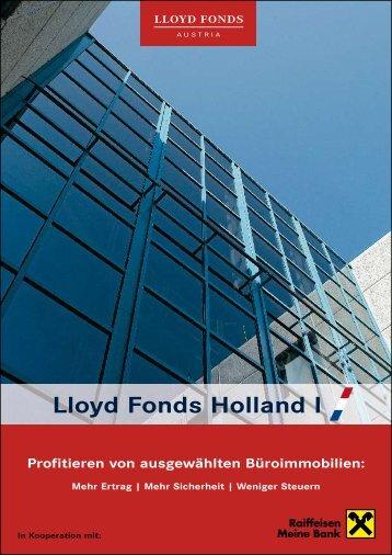 Lloyd Fonds Holland I - Raiffeisen