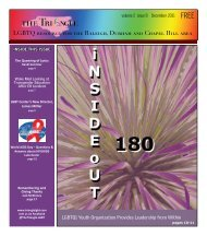 LGBTQ resource for the Raleigh, Durham and Chapel ... - The Triangle
