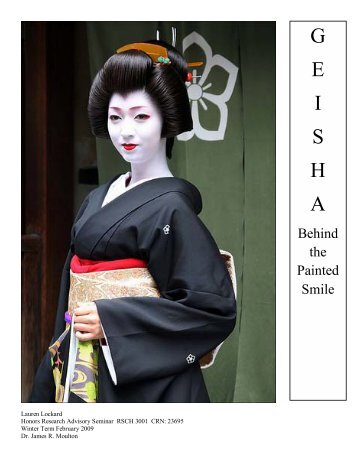 Geisha: Behind the Painted Smile