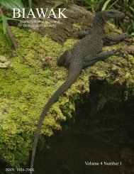 Vol. 4 No. 1 - International Varanid Interest Group