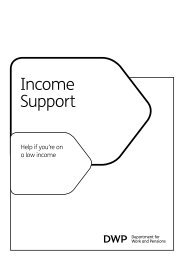 Income Support - Gov.uk