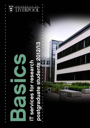Basics - University of Liverpool