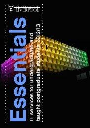 Essentials - University of Liverpool