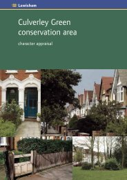 Culverley Green conservation area - London Borough of Lewisham
