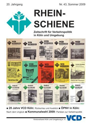 RHEIN- SCHIENE - VCD Köln und Umgebung