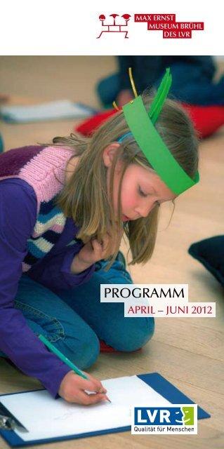 April - Juni 2012 - Max Ernst Museum