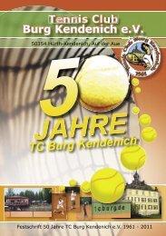 Tennis Club Tennis Clu Tennis Club Tennis Club Burg Kendenich eV