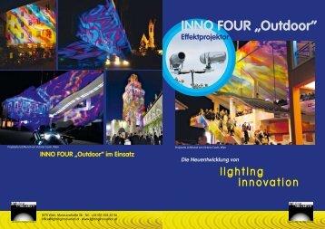 """INNo Four """"outdoor"""" - Lighting Innovation"""