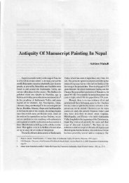 Antiquity Of Manuscript Painting in Nepal