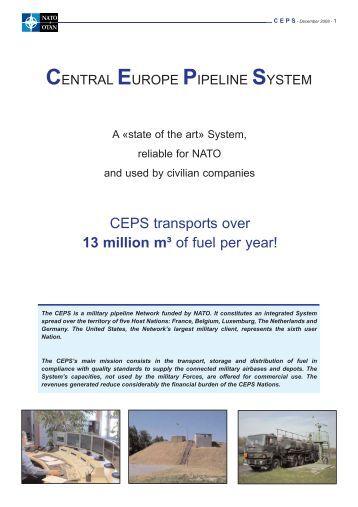 central europe pipeline system - damila.dk