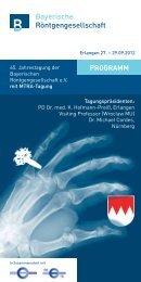 Link zum Programm - Bayerische Röntgengesellschaft