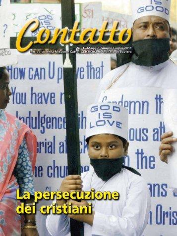 Media:Contatto nr. 03 - 2011.pdf - Missione Cattolica Italiana di ...