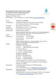 Internationale Bayerische Seniorenmeisterschaften 28. Edi ...