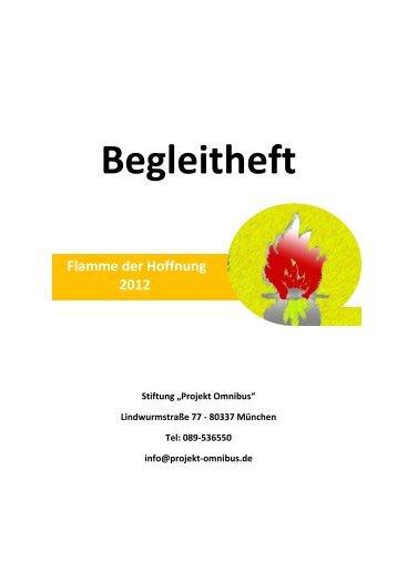 Begleitheft - Projekt Omnibus
