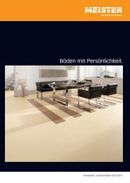 MEISTER Kork - Holz Maassen