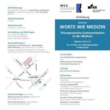 WORTE WIE MEDIZIN - Dr. med. Hansjörg Ebell