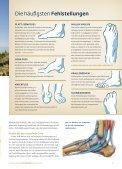Ihre Füße - Regensburger OrthopädenGemeinschaft - Page 7