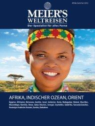 MEIER`S WELTREISEN - Afrika, Indischer Ozean, Orient - Sommer ...