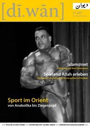 Sport im Orient - [di.wan] Berlin