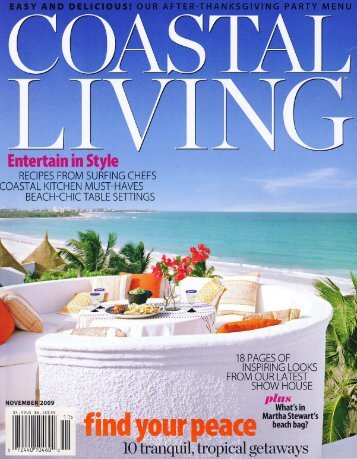 Costal Living: Recipes from Surfing Chefs - Zimzala