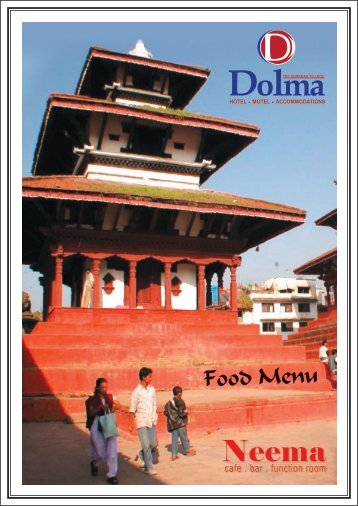 Food Menu - Hotel Dolma