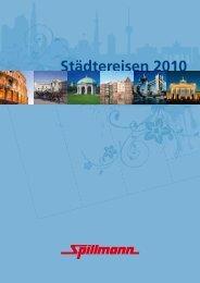 Städte individuell erleben - Spillmann