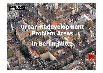 Urban Redevelopment Problem Areas in Berlin-Mitte - Dorothee ...