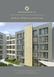 Exklusives Wohnen in zentraler Lage - Brunnenstrasse 154