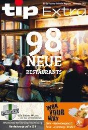 98 neue restaurants - Berliner Zeitung