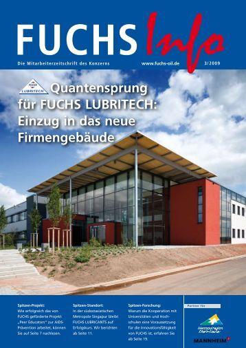 Quantensprung für FUCHS LUBRITECH - Fuchs Petrolub AG