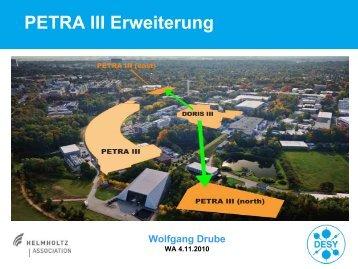 PETRA III Erweiterung - Desy