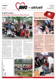 aktuell (Ausgabe 2/2012) - AWO Ruhr-Mitte