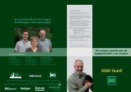 Broschüre für Lehrgangsleiter - Wild und Hund
